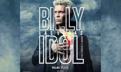 Palms Casino Resort And Live Nation Present Billy Idol: Las Vegas 2019 Presented By SiriusXM