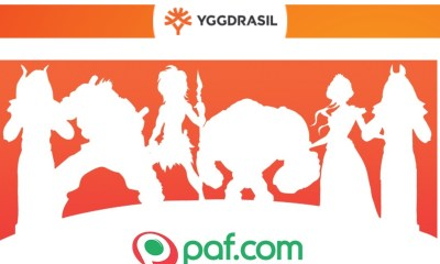 Yggdrasil signs Paf casino content deal