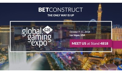 BetConstruct brings its latest enhancements to G2E Vegas