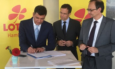 German State Lottery awards contract to Intralot