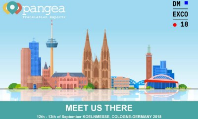 Pangea Will be Checking in to the DMEXCO18