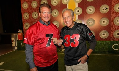 NFL Legend Joe Theismann Takes On The Cordish Companies' Chairman David Cordish In A Quarterback Challenge At Live! Casino & Hotel