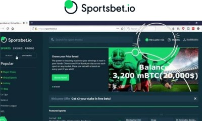 Sportsbet.io pays out 3.2BTC windfall on Live Casino