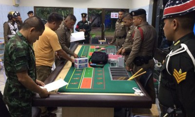 Thailand police busts gambling ring