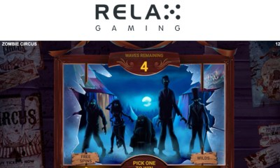 Relax Gaming brings Zombie Circus to town