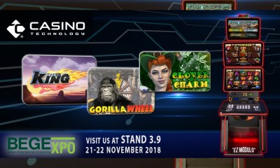 Casino Technology releases new line multi game at BEGE 2018