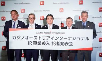 Casinos Austria bid for casino facility in Japan