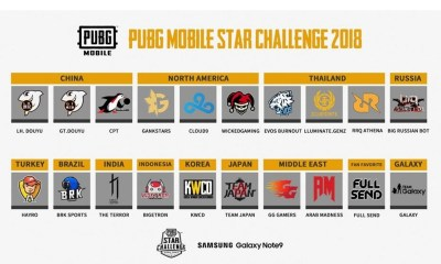 Final 20 Teams Announced for PUBG Mobile Star Challenge Global Finals