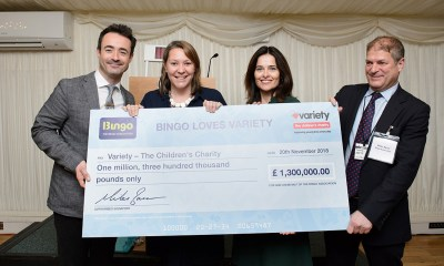 The Bingo Association donates £1.3 Million to charity
