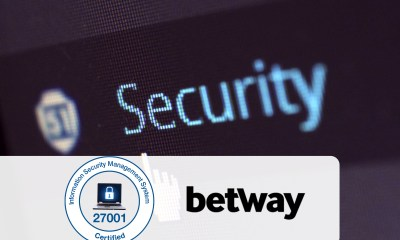 Betway Ltd. awarded ISO 27001 certification