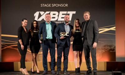 """1xBet win """"Rising Star in Sports Betting Innovation"""" at the SBC Awards 2018"""