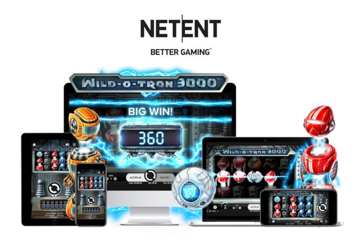 NetEnt's super sci-fi slot Wild-O-Tron 3000