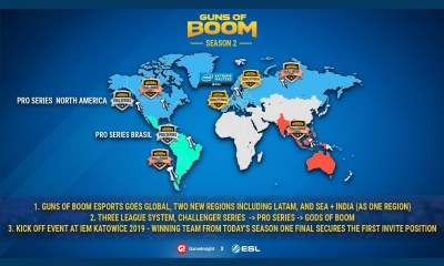 Guns of Boom Announces Gods of Boom Stadium-level Esports Series