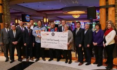 The Pokagon Band gives $1.56 million to area agencies