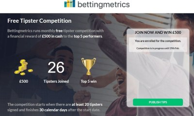 Bettingmetrics launches market place with free tipster competition to connect professional sports bettors with regular punters!