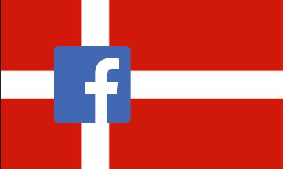 Denmark censures Facebook for promoting illegal websites