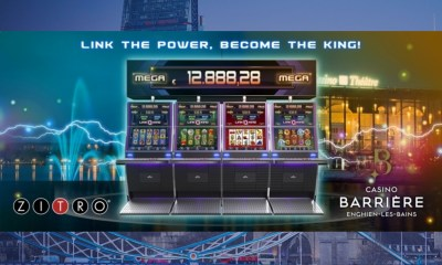 Zitro's Link King arrives at the French casino in Enghien-les-Bains