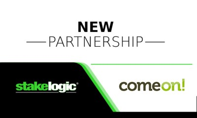 Stakelogic Content Launches With ComeOn