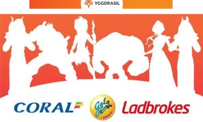 Yggdrasil agrees slots content deal with GVC's Ladbrokes, Coral and Gala brands