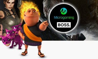 BOSS. is delighted to announce it has teamed up with Microgaming