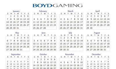 Boyd Gaming To Report Fourth-Quarter, Full-Year 2018 Results, Host Conference Call And Webcast On February 21