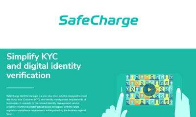 SafeCharge Launches Identity Manager, a Solution for Seamless Digital Identity Validation
