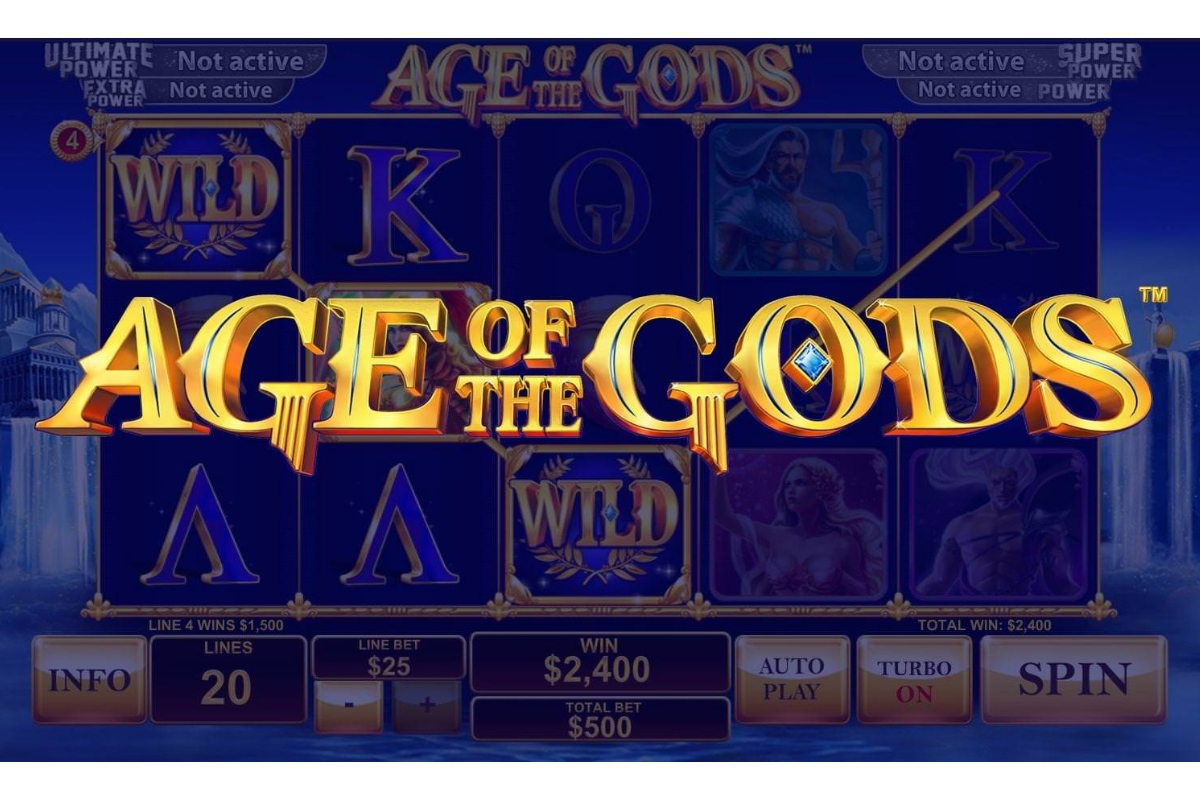 Age of the Gods Series Shows Playtech Can Create Its Own Icons