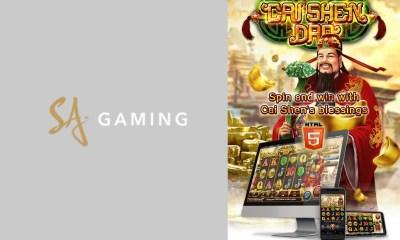 """SA Gaming - """"Cai Shen Dao"""" Slot"""