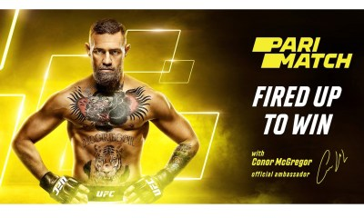 Parimatch's new look packs a punch as the company teams with MMA legend, Conor McGregor