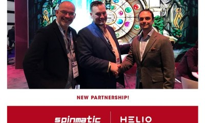 Helio Gaming teams up with Spinmatic