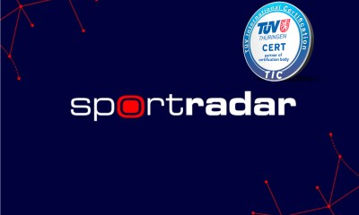 Sportradar's German Data Production Unit Receives re-certification for ISO 9001:2015 from TÜV Thuringia