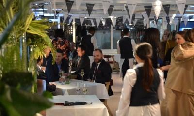 Wazdan hosts unforgettable boat party in London