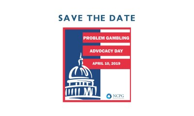NCPG to celebrate April 10 as Problem Gambling Advocacy Day