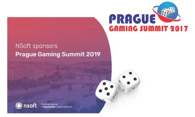 NSoft sponsors Prague Gaming Summit 2019