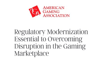 Regulatory Modernization Essential to Overcoming Disruption in the Gaming Marketplace