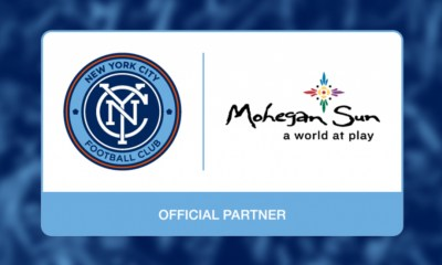 New York City FC Teams Up With Premier Integrated Entertainment Resort Developer, Mohegan Gaming & Entertainment