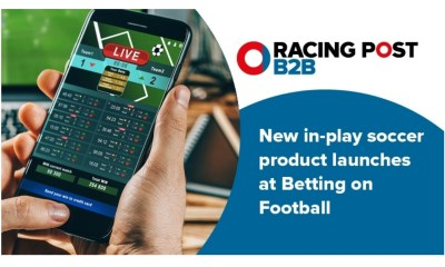 Racing Post B2B to launch in-play product at Betting on Football