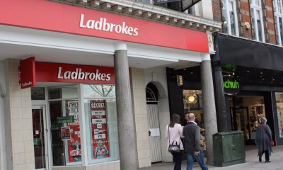 Ladbrokes to close shops due to reduction in maximum stakes at FOBT