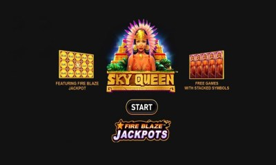 Playtech Launches Fire Blaze Series with Sky Queen