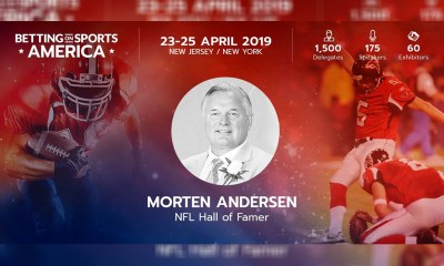 Better Collective ambassador Morten Andersen to deliver speech at Betting on Sports America