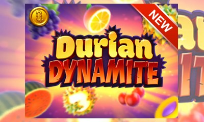 Quickspin 3D-rendered, highly volatile fruit game with Durian Dynamite