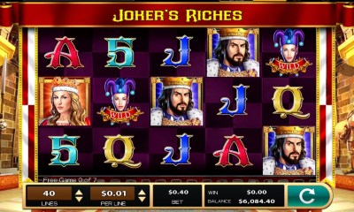 Play the fool in High 5 Games' Joker's Riches