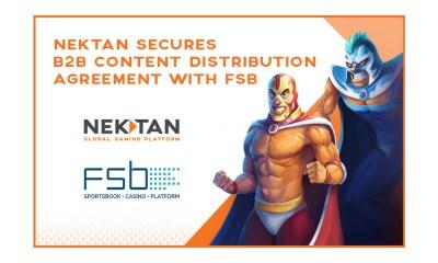 Nektan Secures B2B Content Distribution Agreement With Sportsbook Platform Provider FSB