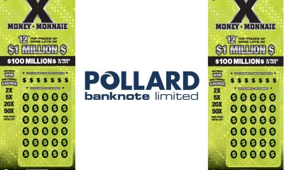 Pollard Banknote Receives Print Industry Award for First-Ever Transparent Instant Ticket