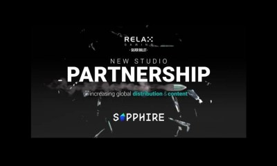 Relax Gaming Signs Silver Bullet Partner, Sapphire Gaming