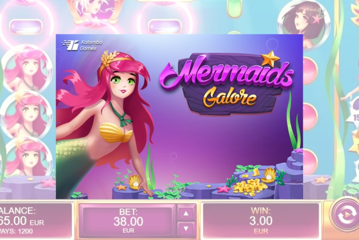 Kalamba Games dives into the ocean with Mermaids Galore