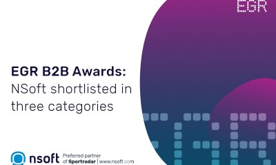 NSoft is shortlisted in three categories to EGR B2B awards