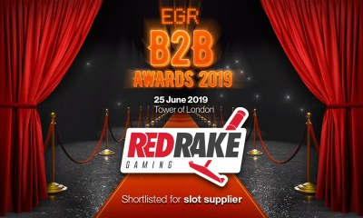 Red Rake Gaming Nominated For EGR B2B Awards