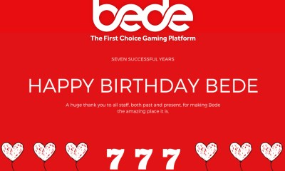 Bede Gaming celebrates seven years of stellar software success