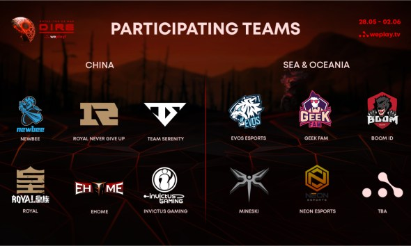 WePlay! Tug of War: Dire list of participants and other details are revealed